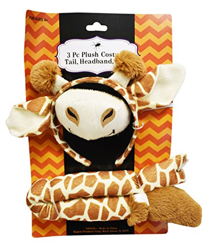 Set of Adorable Giraffe Plush Costume! 3 Piece - 2 Piece - Unicorn, Dinosaur, Giraffe, and Puppy Dog! Adorable for Children or Adults! (1, Giraffe) - Boo From Monster Inc Costumes