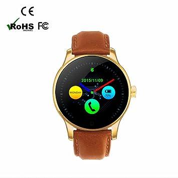 SmartWatch Bluetooth reloj Intelligent con Recordatorio Inteligente/Contador de Calorías/Análisis de Sueño/
