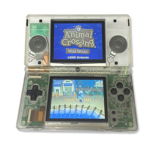 ValueDeluxe Custom Transparent NAVY BLUE EDITION Nintendo DS Lite System Hand held Gaming - Nintendo Blue Ds Navy