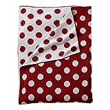 Baby : Ethan Allen | Disney Dotty Stroller Blanket, Mickey's Shorts Red