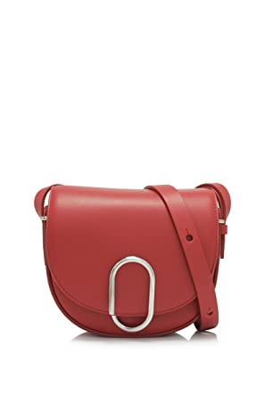 a551f86c8c6fb Phillip Lim 3.1 Umhängetasche Alix Mini Saddle in Leder Rot  Amazon ...