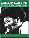 CODA #222 Anthony Braxton Irene Schweizer Lonnie Johnson Dave Brubeck 10-11 1988