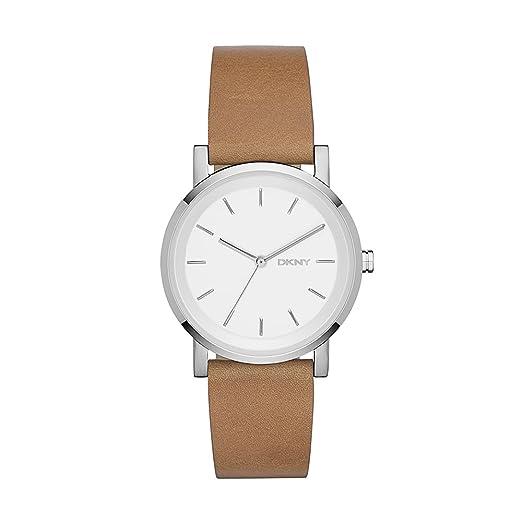 c356ff8fc538 Reloj Dkny Donna Karan Soho Ny2339 Mujer Blanco  Amazon.es  Relojes