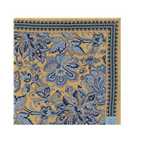 Robert Talbott Gold Pocket Square (Robert Squares Talbott Pocket)