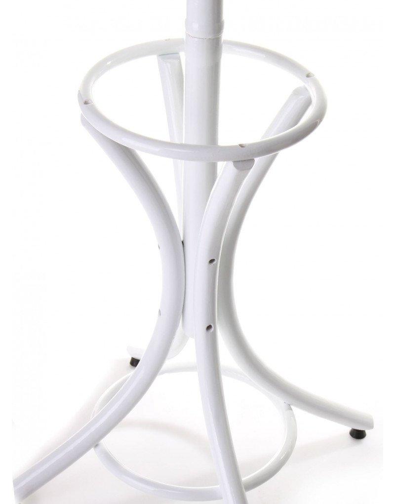 Perchero de Pie Modelo Thonet Color Blanco de Madera Natural ...