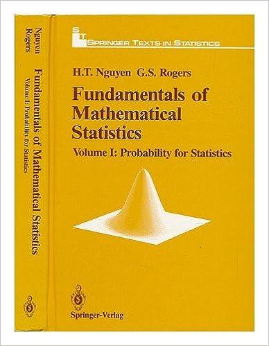 Fundamentals of Mathematical Statistics – Volume 1