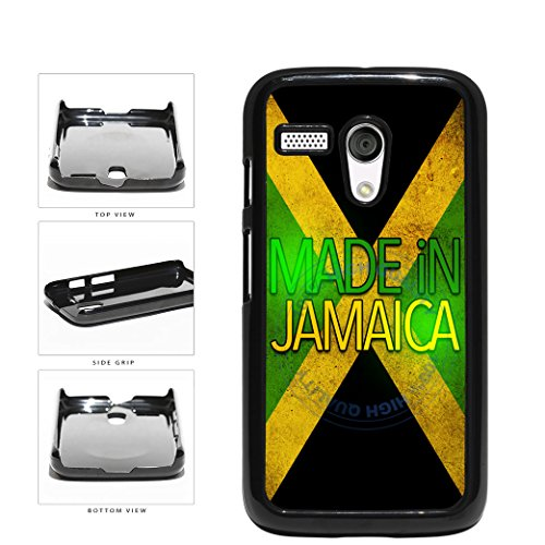BleuReign(TM) Made In Jamaica Plastic Phone Case Back Cover For Motorola Moto G (Motorola Moto G Case Rasta)