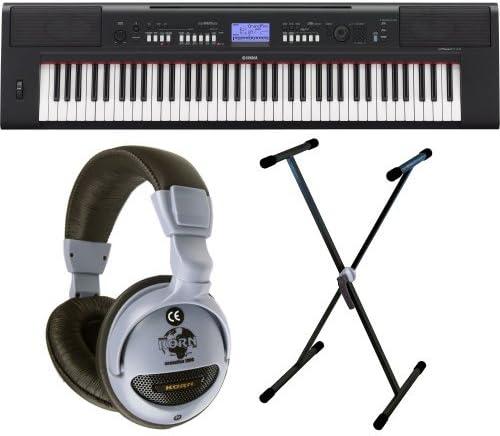 Yamaha NP-V60 Incluye auriculares y X de soporte para teclado ...