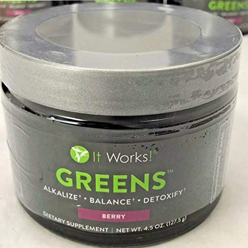 It Works! Greens, 4.5 oz, Berry