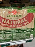 Applegate Natural Uncured Beef Hot Dogs 20 Oz (2 Pack)