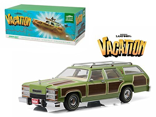 NEW 1:18 GREENLIGHT COLLECTION - NATIONAL LAMPOON'S VACATION 1979 WAGON QUEEN FAMILY TRUCKSTER Diecast Model Car By Greenlight by Greenlight by Greenlight