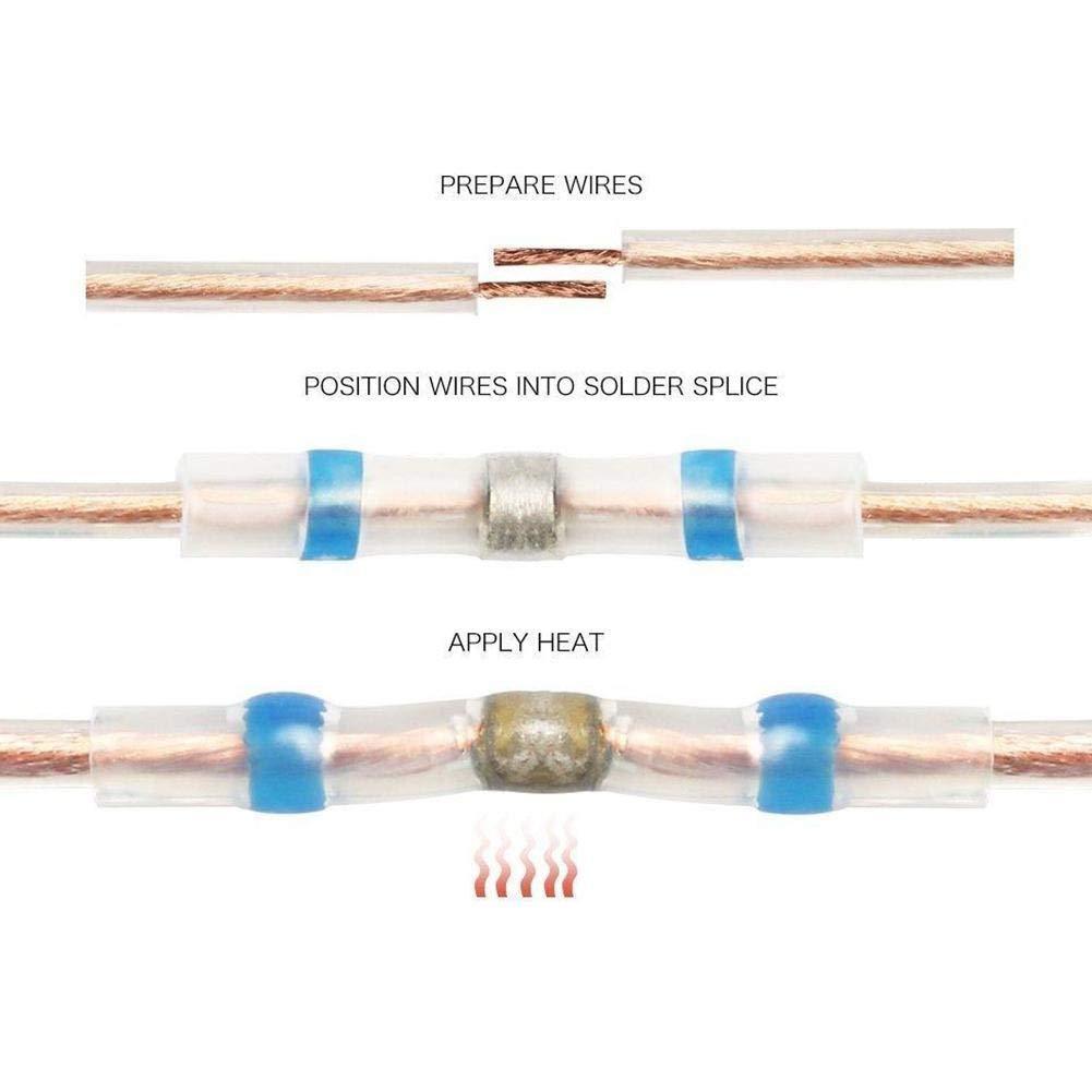 Tube Thermor/étractable Manchon Thermor/étractable Joint de Soudure Connecteur de Fil Fils /électriques Soud/é Et Scell/é Avec Une Fonction Imperm/éable Avanc/ée