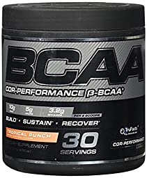 Cellucor BCAA Supplement, Tropical Punch, 30 serving