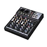Audio 2000s AMX7303USB 4-Channel Audio Mixer Sound Board with USB