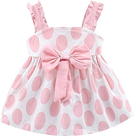 Fashion Kids Baby Girls Short Sleeve Daisy Printed One Piece Sundress Tutu Dresses Summer Dresses Blue Clode/® for 0-3 Years Old Girls