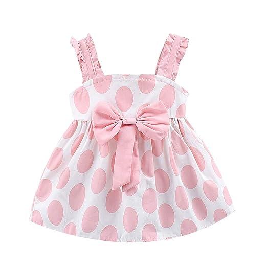 Baiomawzh Ropa Bebe Niña Recien Nacido Verano, Bebé Niñas Vestidos ...
