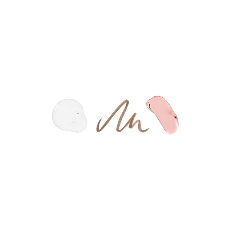 Benefit Cosmetics Soft Natural Brow Kit Color 02 Light – golden to dark blonde warm