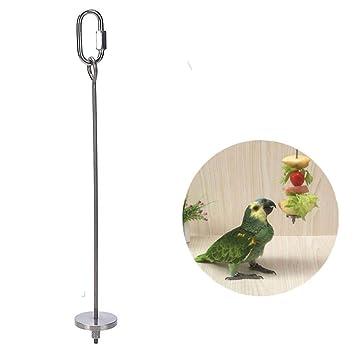 Juneping Jaula para pájaros pájaros, Verduras, Frutas, Carne ...