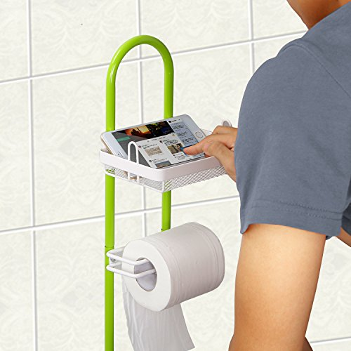 Lifewit Toilet Roll Paper Holder Caddy with Magazine Rack hot sale 2017