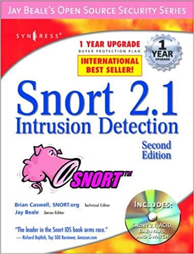 Snort 21 intrusion detection second edition jay beale caswell snort 21 intrusion detection second edition 2nd edition fandeluxe Choice Image