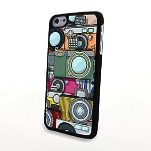 Generic Unique Design MOTOR DKIVE Matte Patten Cover for Classical Personalized SUPER HARD PU iPhone 5C Case