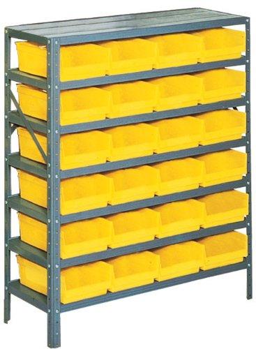 edsal pb311 industrial gray heavy duty steel shelving. Black Bedroom Furniture Sets. Home Design Ideas