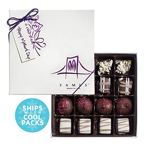 Chocolate Gift Box For Mom - Gift Mom with Fresh Hand-made Chocolate - Your Mom Will Thank You Later. - Kosher Pareve