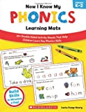 Now I Know My Phonics Learning Mats, Lucia Kemp Henry, 0545397014