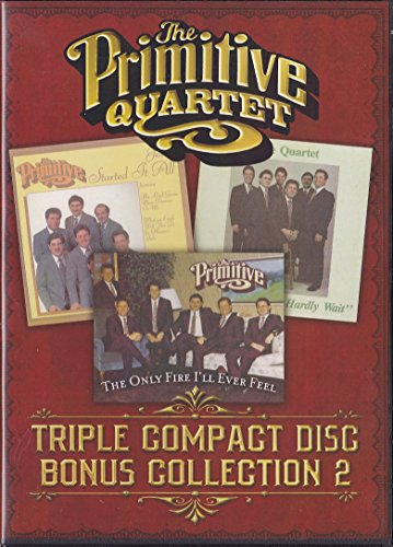 Triple Compact Disc Bonus Collection 2: Jesus Started It All, I Can't Hardly Wait, The Only Fire I'll Ever Need