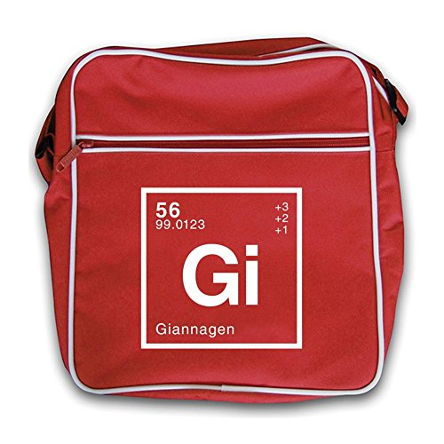 Flight Periodic Gianna Retro Dressdown Element Red Bag 5IRTxxw