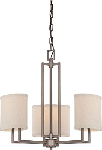 Nuvo Lighting 60 4857 Three Light Chandelier