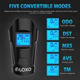 VLOXO Bike Speedometer with LED Bike Light, USB