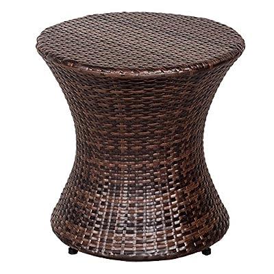 Sundale Outdoor Wicker Table