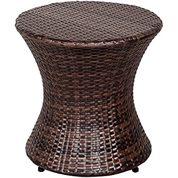 Amazon Com Sundale Outdoor Wicker Hourglass Accent Side