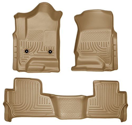 Husky Liners Front & 2nd Seat Floor Liners Fits 15-17 Tahoe/Yukon