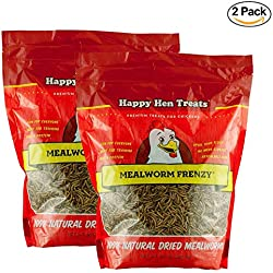 Happy Hen Treats Mealworm Frenzy, 30-Ounce (2 Pack)