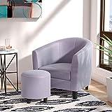 Cheap Ocean Bridge 82001SGY Barrel Chair