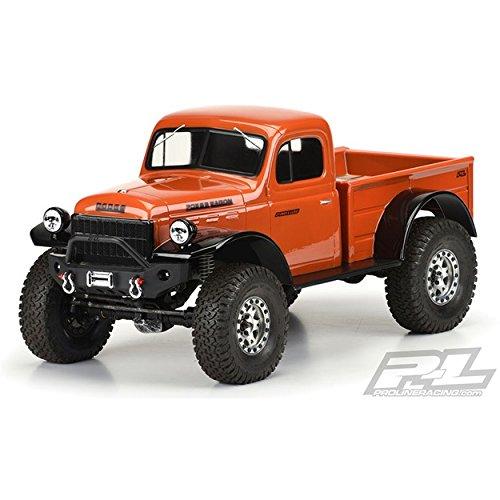 Pro-Line 3499-00 1946 Dodge Power Wagon Clear Body 12.3 inch -