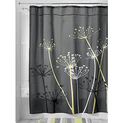 InterDesign Thistle Fabric Curtain 84 Inch