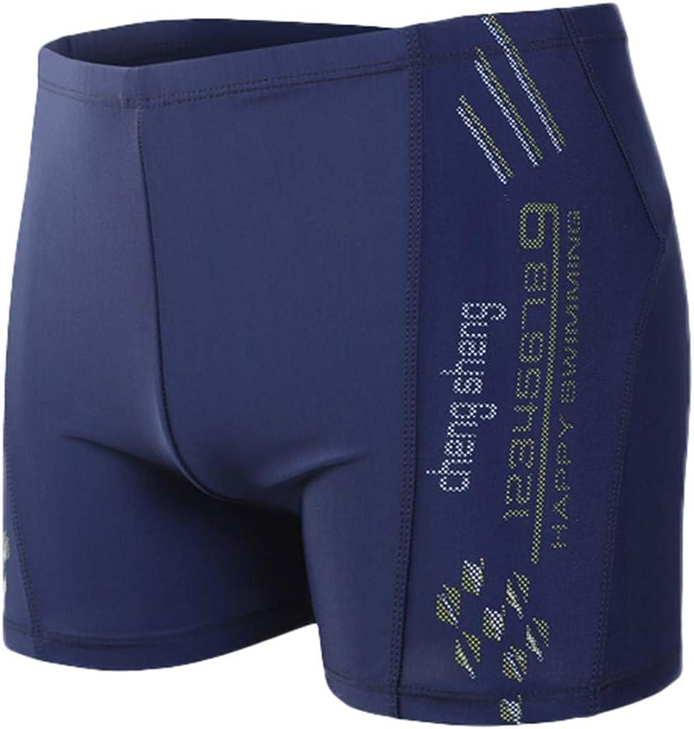 Aotifu Mens'Athletic Swim Trunks Boxer Brief Jammers Quick Dry Compression Square Leg Swim Brief Swimsuit Shorts