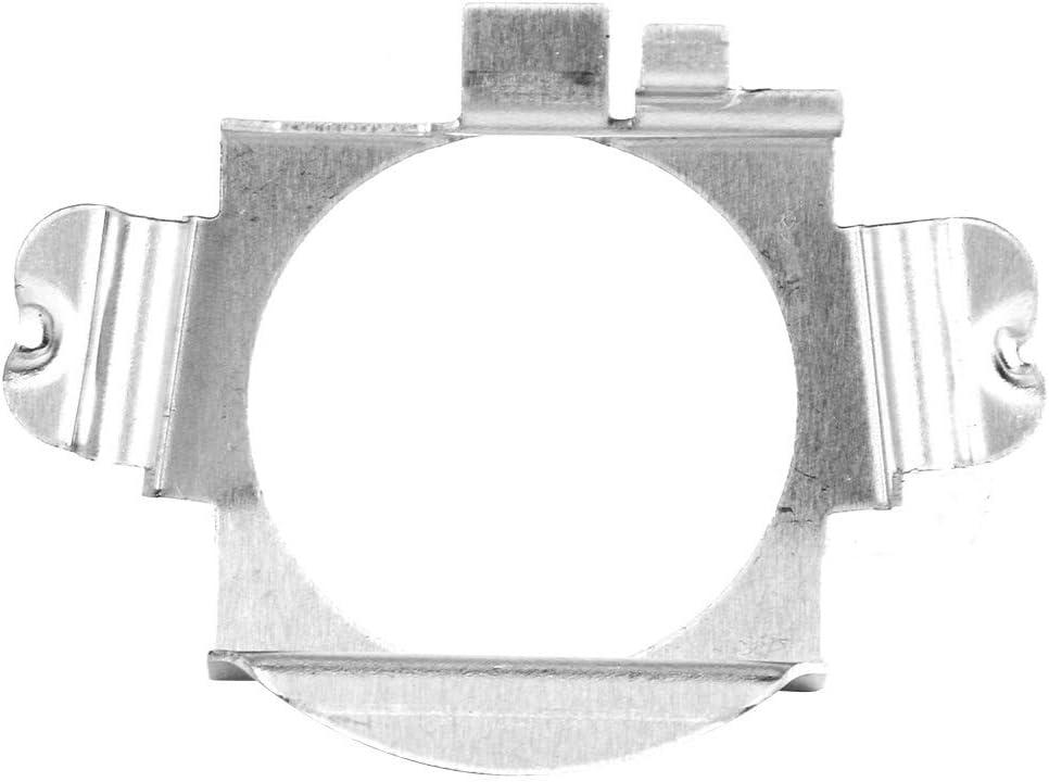 2 St/ück Edelstahl H7 LED Scheinwerfer Adapter Halter H7 Scheinwerfer Adapter