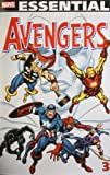 Front cover for the book Essential Avengers, Volume 3 by Roy Thomas