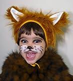 Déguisement de Carnaval Renard Chapeau avec Oreilles Costume des Animaux pour les Enfants Garçons Filles Fête Soirée Carnaval