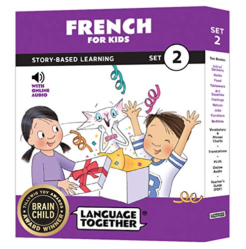 French for Kids: 10 Early Beginner Reader Books with Online Audio (Set 2) (First Start French Ii)