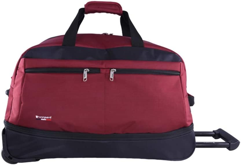 Travel Bags Trolley Case 21//23 inch Foldable Business Travel Luggage Suitcases Carry On Hand Luggage Durable Hold Tingting Color : Red3B, Size : 523140cm