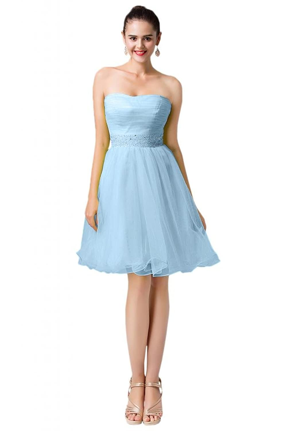 Sunvary New Arrival Girl Short Open Back Homecoming Party Dresses