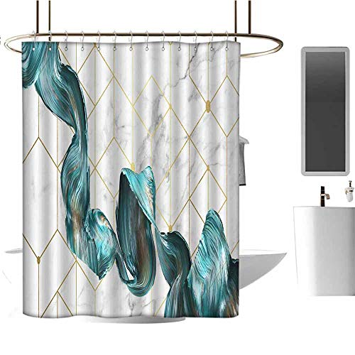 StarsART Shower Curtains for Bathroom Lighthouse Abstract Art W72 x L84,Shower Curtain for Men]()