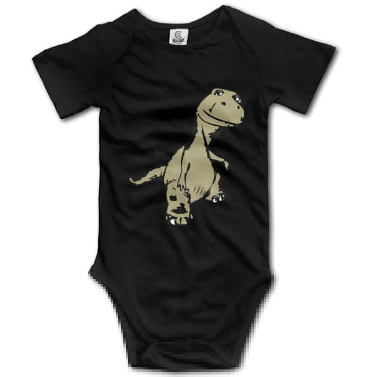 Dinosaur Unisex Solid Baby 100/% Organic Cotton Romper Pajamas 0-24M