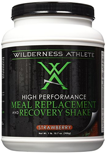 Wilderness Athlete Meal Replacement and Recovery Shake, Strawberry, 15.7 Ounce Review