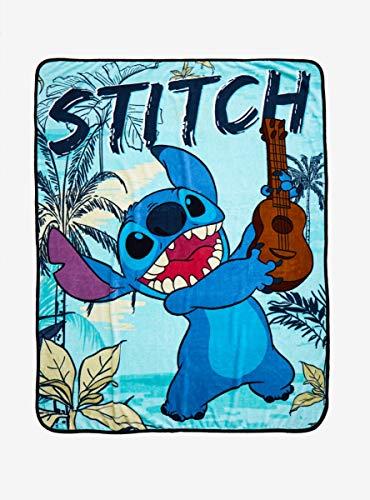 Disney Lilo & Stitch Guitar Stitch Throw Blanket